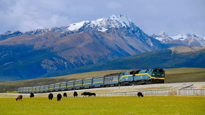 The Train to Tibet from Mainland China