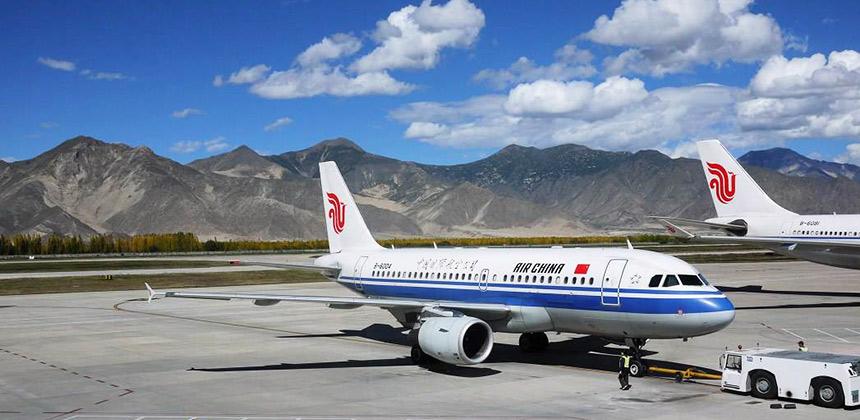 Flight to Lhasa