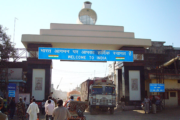 Sanouli (the Indo-Nepal Border)