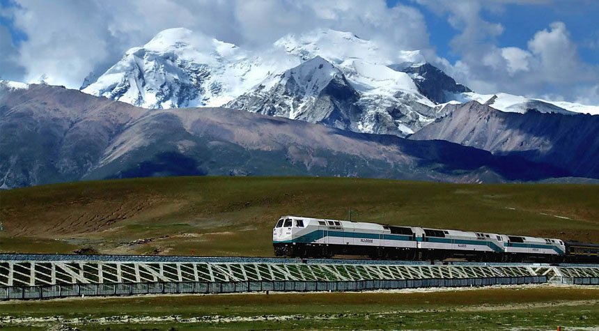 Chengdu to Lhasa by Train
