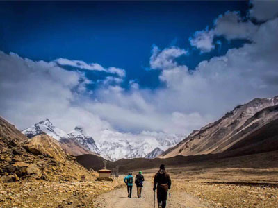 15 Days Mt. Everest Trekking Tour from Rongbuk Monastery to Advance Base Camp