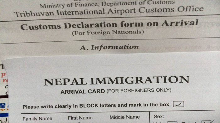 Nepal-Visa-On-Arrival-Application-Form Visa Application Form Nepal Airport on nepal visa application, nepal tourist visa, nepal visa on arrival,