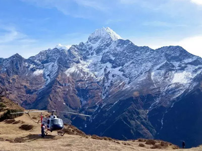 1 Day Kathmandu to Everest Base Camp Helicopter Tour