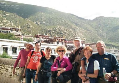Traveler photo: Paying a visit to the ancient  Drepung Monastery. (August 2020)