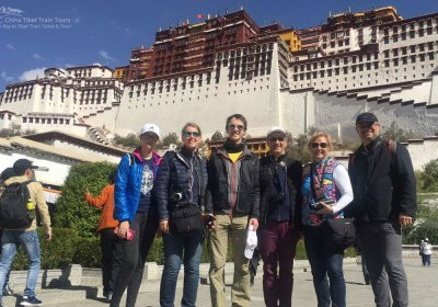 Traveler photo: We explored the magnificent Potala Palace in Lhasa. (January 2020)