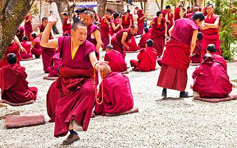 6 Days Lhasa Small Group Train Tour with Three Major Monasteries