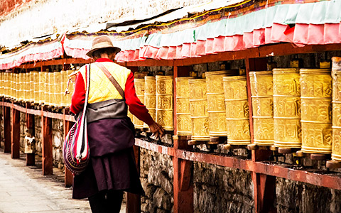 7 Days Central Tibet Culture Small Group Tour with Qinghai-Tibet Train Experience