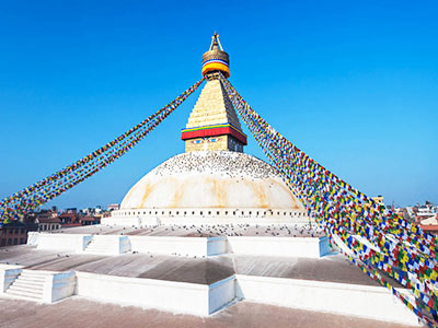 8 Days Lhasa to Kathmandu Overland Small Group Tour with Tibet Train Experience