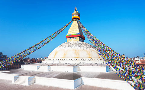 Tibet Train + Lhasa to Kathmandu Group Tour (8 Days)