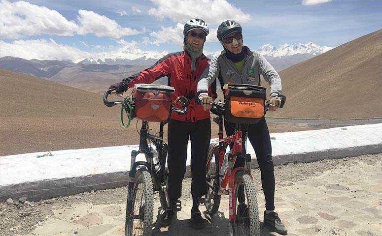 Join in our group Biking tour from Lhasa to Mount Everest Base Camp
