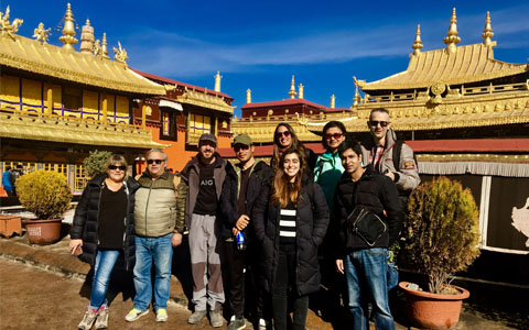 4 Days Lhasa and Tsongkhapa Butter Lamp Festival Tour
