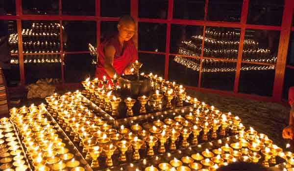 Butter Lamp Festival is an important religious festival in Tibet held in commemoration of Tsongkhapa
