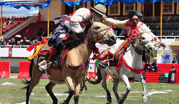 Gyantse Damar Festival is also known as Gyantse Horse Racing Festival