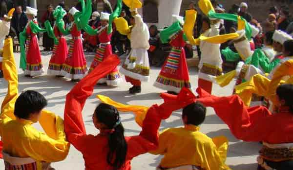 The Tibetan new year is also known as Losar Festival