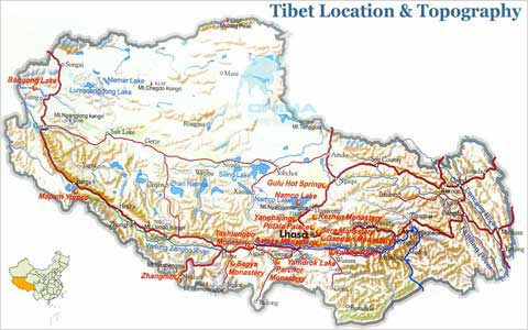 Tibet Geography