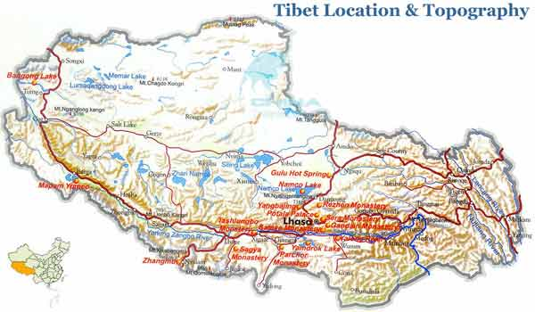Tibet is located on the roof of the world-the Qinghai-Tibet Plateau