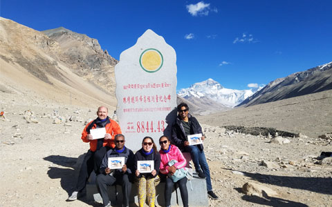 9 Days Kathmandu to Lhasa Adventure Tour with Overnight Stay at EBC