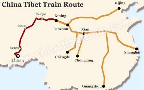 New Tibet Train Schedule Came into Effect for 2018 Tibet Train Tour