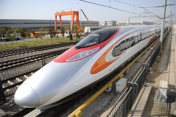 High Speed Train from Hong Kong to Mainland China