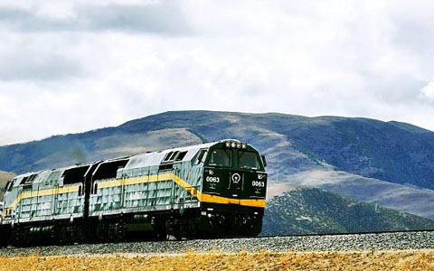 Two New Tourist Trains Launched in Tibet