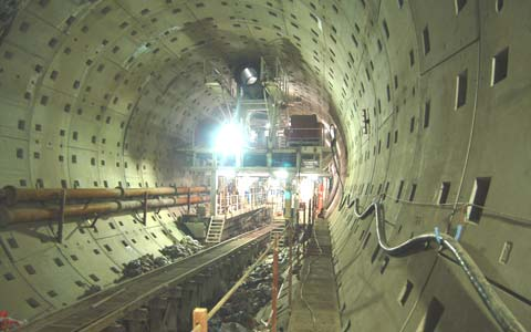 World's Longest Plateau Rail Tunnel Completed