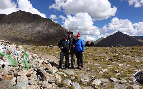 9 Days Tibet Trekking Tour from Ganden to Samye
