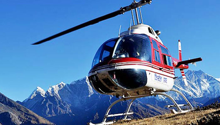 Get to Mount Kailash by Helicopter