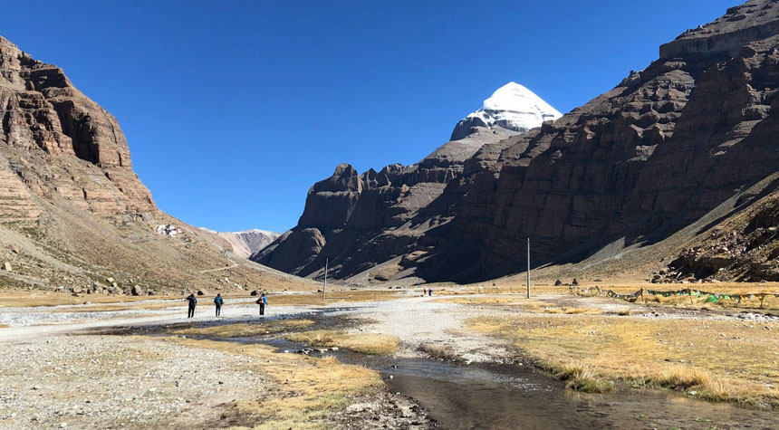 The sacred Mount Kailash Kora Trek