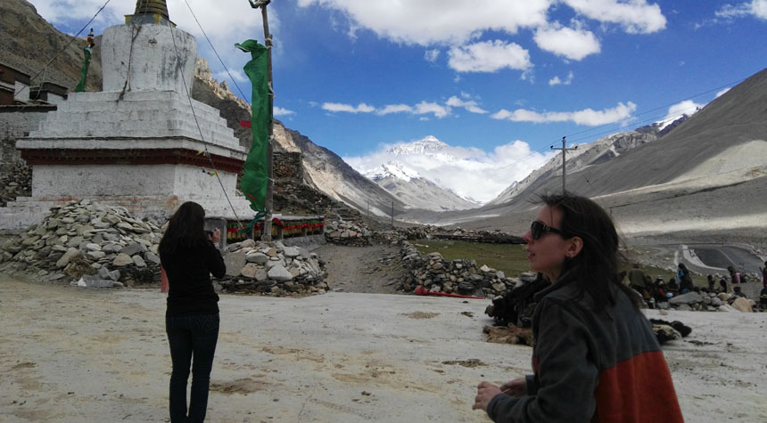 Visit Mount Everest in Rongbuk Monastery