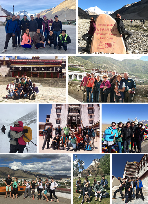 Tibet Train Group Tour