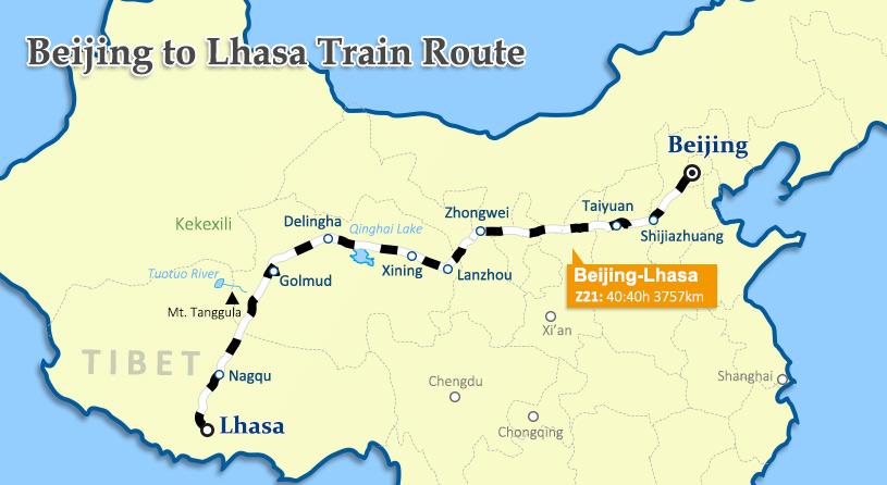 Beijing To Lhasa By Train China Tibet Train