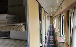 Hard sleeper cabin