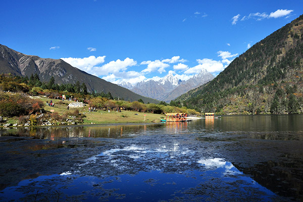 Kangding area in Sichuan