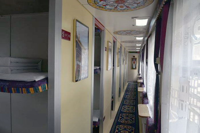 Lhasa Shigatse Train Hard Sleeper Cabin