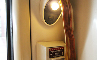 the oxygen outlet in soft sleeper cabin