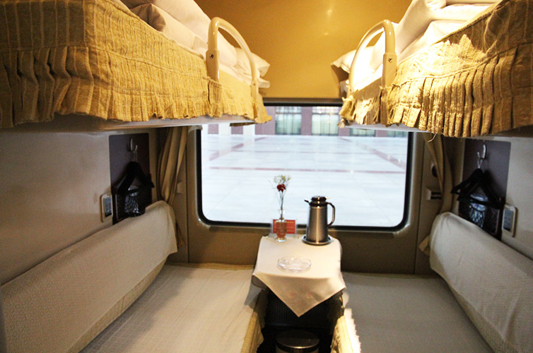 soft berths on Tibet trains