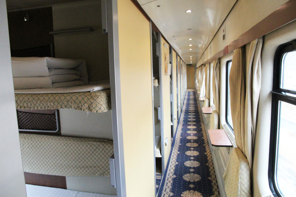 Hard Sleeper Cabin of Tibet Train