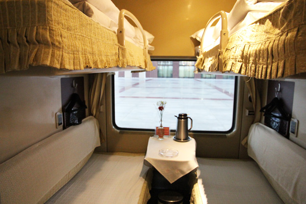 Soft Sleeper Cabin of Tibet Train
