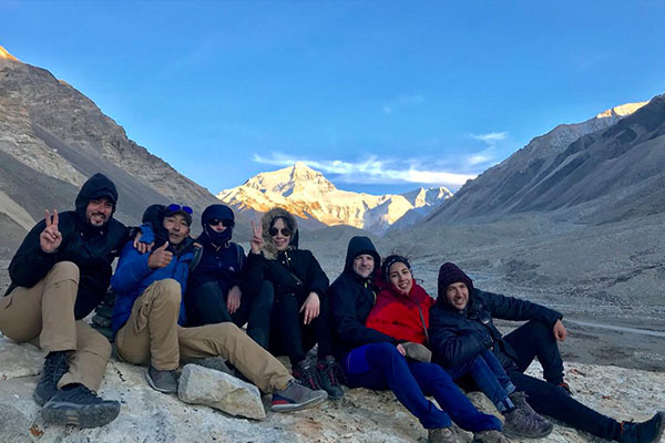 Clear Peak View at Everest Base Camp