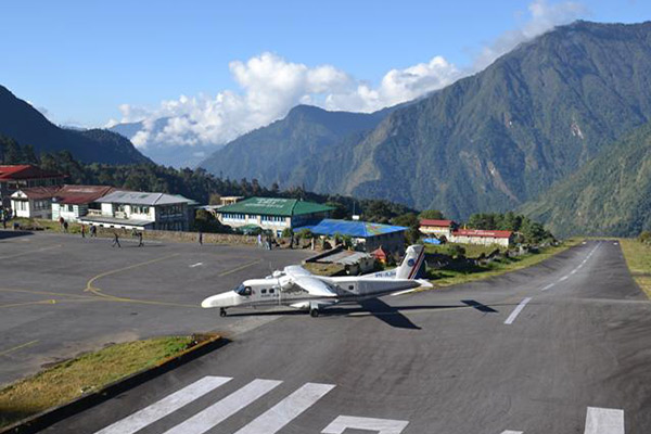 Flight from Kathmandu to Lukla