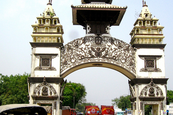 Border of Birgunj