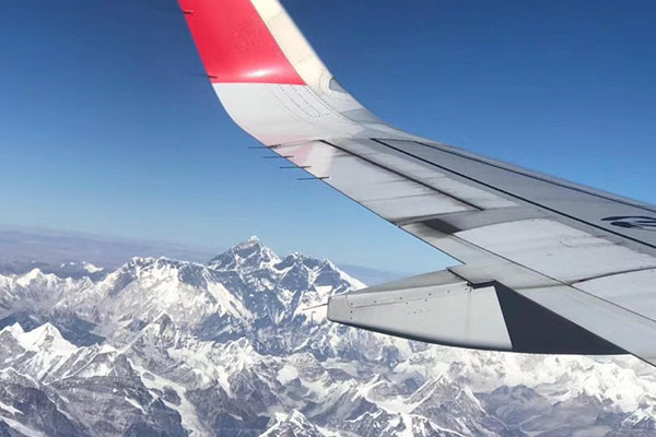 Get to Tibet from Nepal by Flight