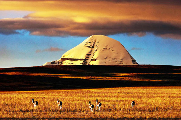 Mt. Kailash in Autumn