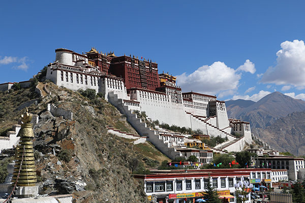 Potala Palace on the top of the Red Hill
