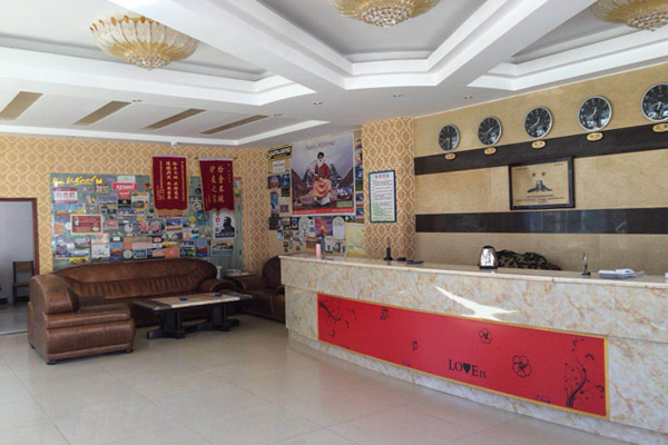 The lobby of Saga HotelSaga Hotel