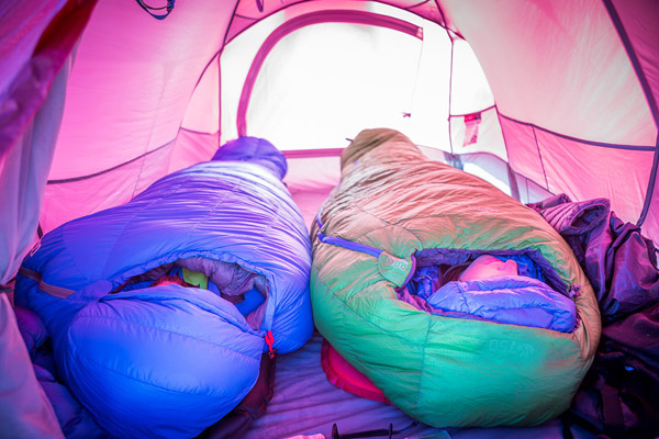 Arctic-rated sleeping bag for winter time in Tibet