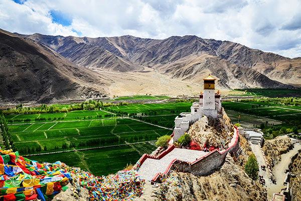 what is the climate on the tibetan plateau answers