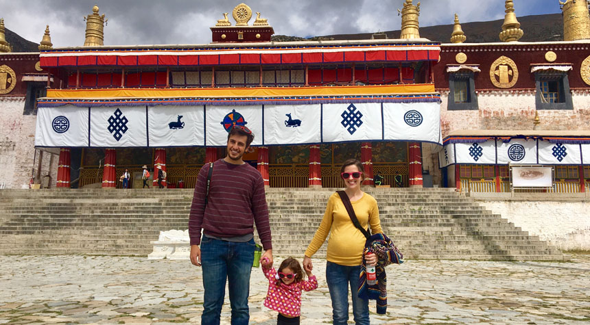 Visit Lhasa Drepung Monastery in October