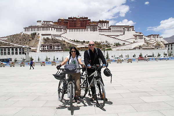 Cycling from Lhasa