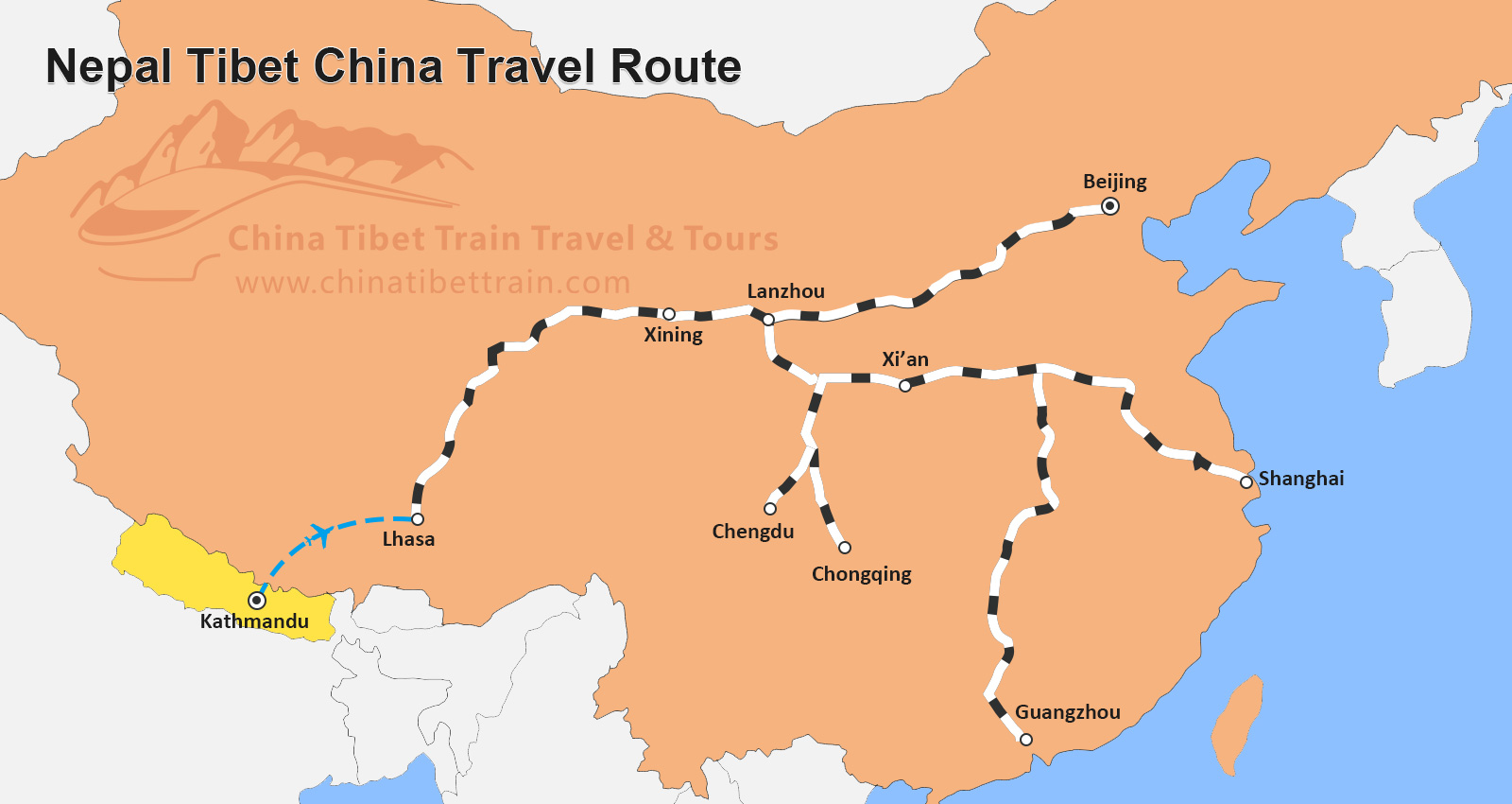 Travel China Tours Tibet By Train From Shanghai